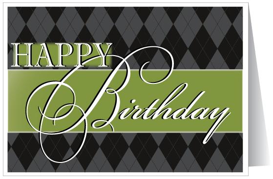 Birthday Wishes – Professional Birthday Card