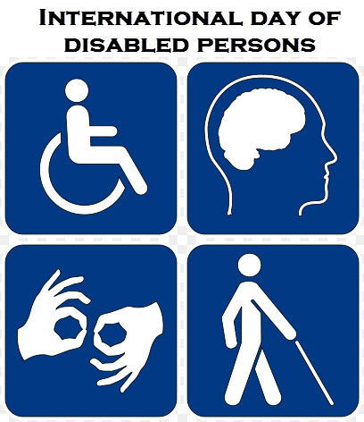 United Nation's International Day of Persons with Disabilities, 3 ...