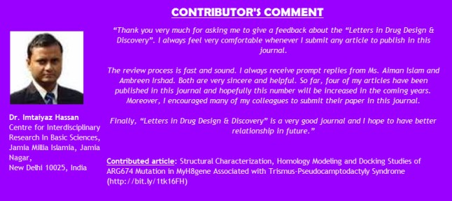 CONTRIBUTOR'S COMMENTS - HASSAN