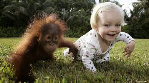Children-act-like-animals