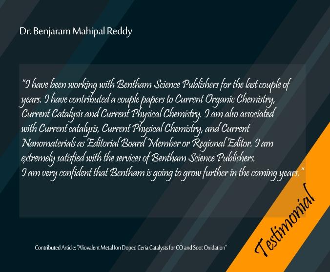 Dr. Benjaram Mahipal Reddy