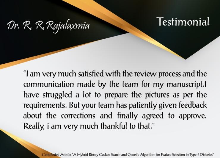 Dr. R- R-Rajalaxmia
