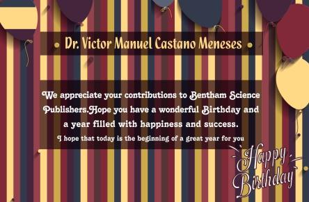 Dr. Victor Manuel Castano Meneses -1 sep