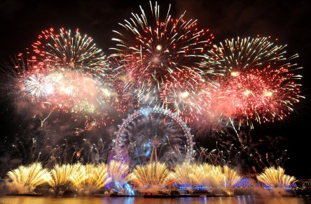 Britain New Year's Celebrations
