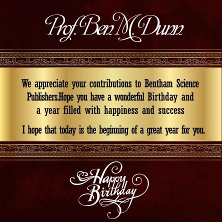 Prof.  Ben M.  Dunn-22 march