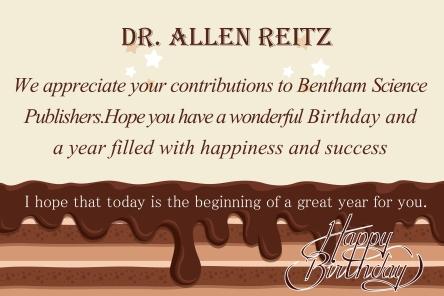 Dr. Allen Reitz
