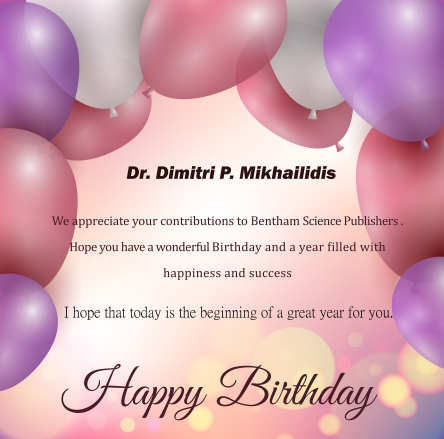 Dr. Dimitri P. Mikhailidis