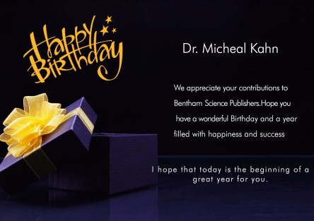 Dr. Micheal Kahn