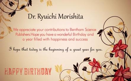 Dr. Ryuichi Morishita