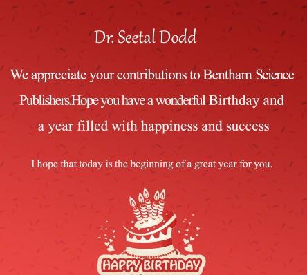 Dr. Seetal Dodd