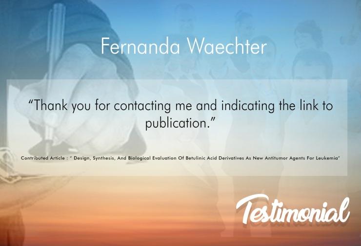 Fernanda Waechter