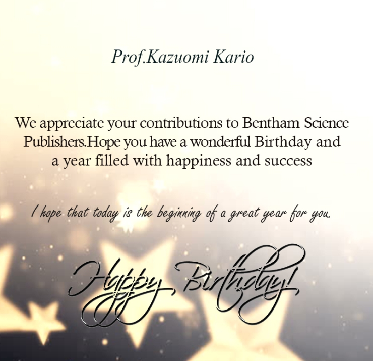 Prof.Kazuomi Kario