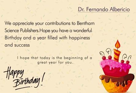Dr fernando Albericio -5 june