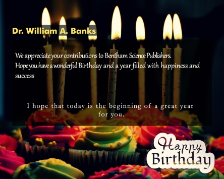 Dr. William A. Banks-9 june