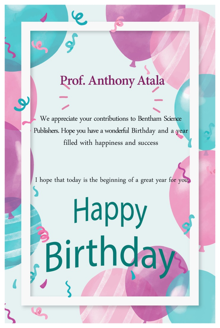 Prof. Anthony Atala