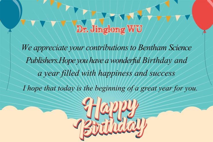 Dr. Jinglong Wu