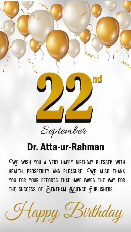 Dr. Atta-ur-Rahman