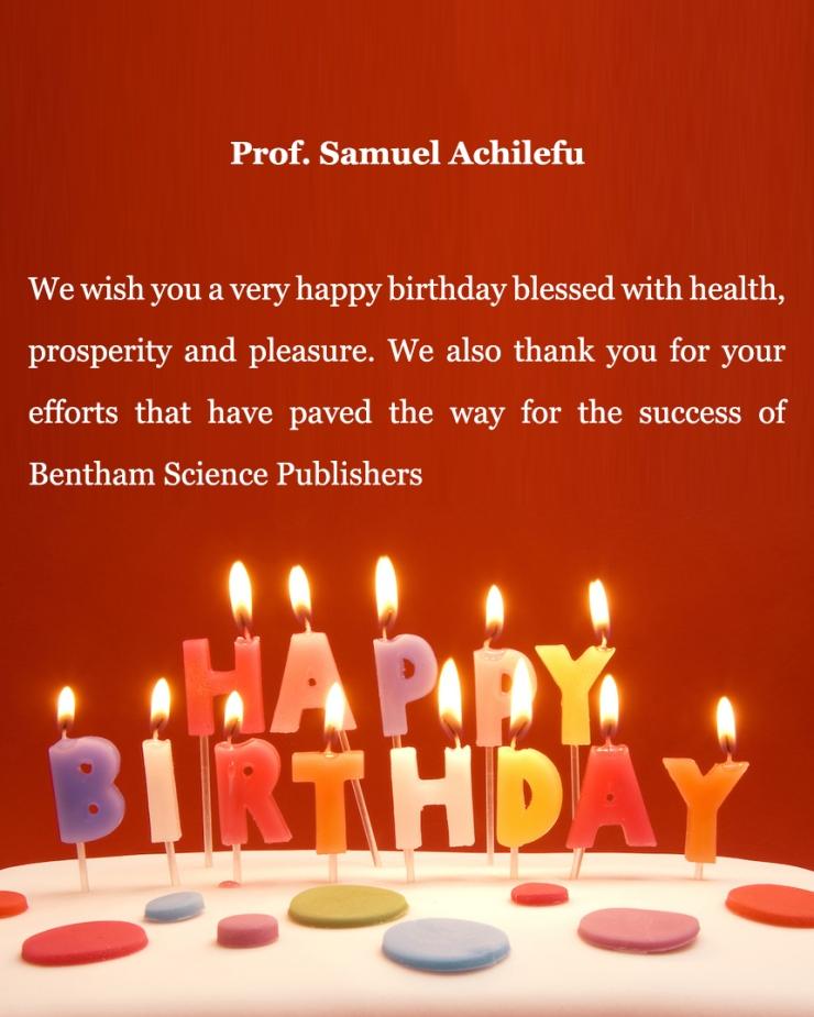 Prof. Samuel Achilefu