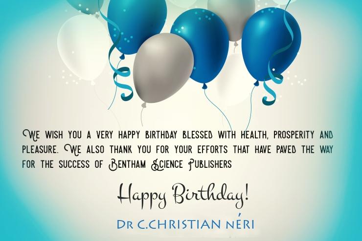 Dr C.CHRISTIAN nERI