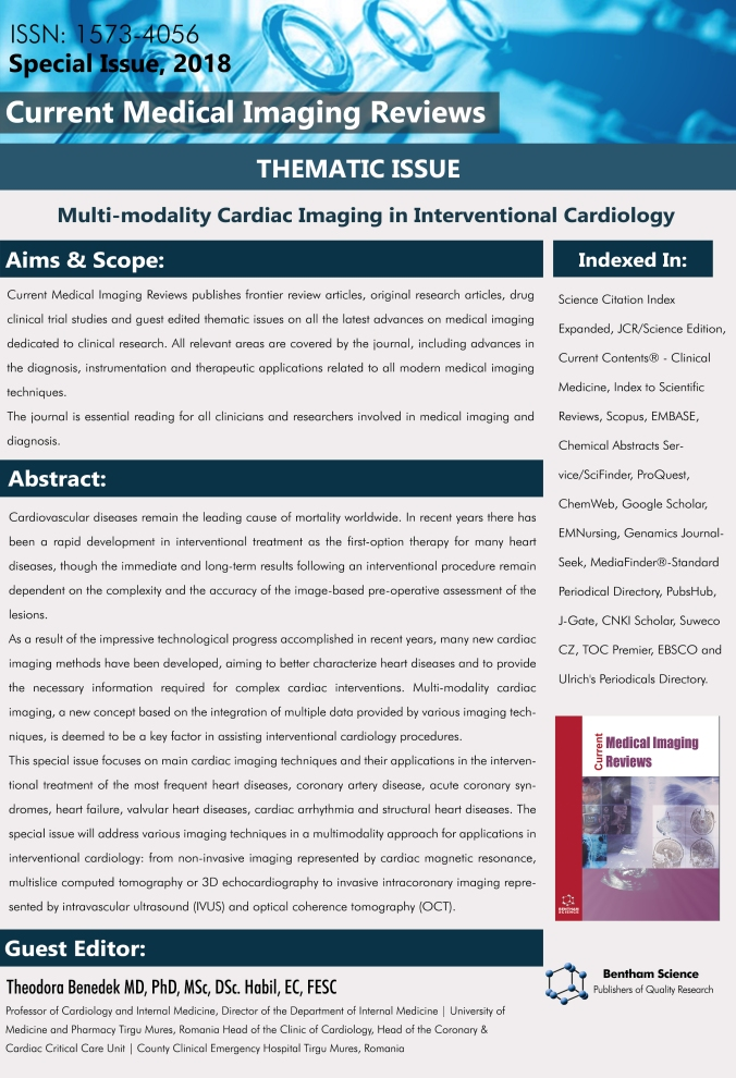 UPCOMING THEMATIC ISSUE – MULTI-MODALITY CARDIAC IMAGING IN