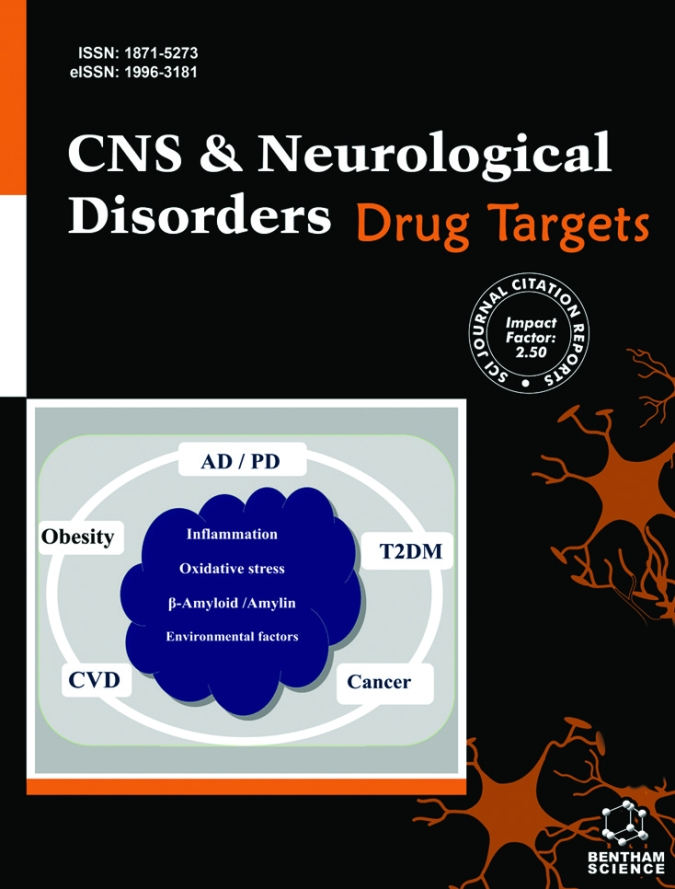 Image result for CNS Neurol Disord Drug Targets.