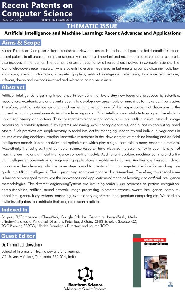 Rpcs-Thematic Issue - Chiranji Lal Chowdhary