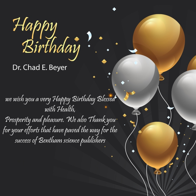 Dr Chad E Beyer