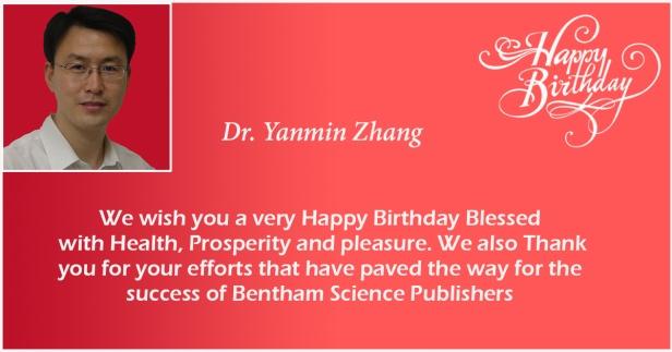 Dr. Yanmin Zhang