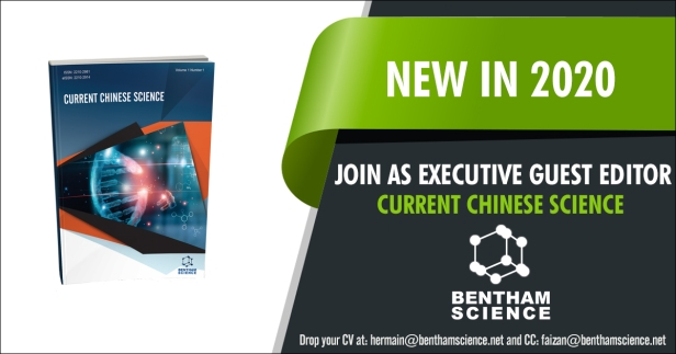 Current Chinese Science - Join as Executive Guest Editor